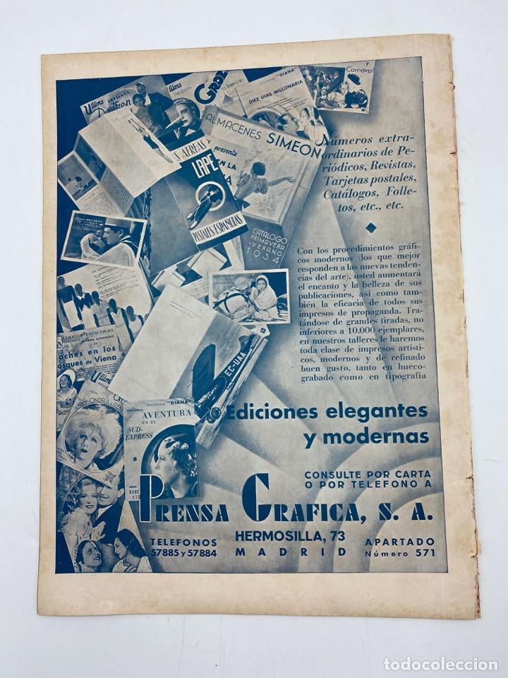Cine: REVISTA CINEGRAMAS. AÑO III. Nº 70. ENERO, 1936. PORTADA: GAIL PATRICK - Foto 4 - 269614458