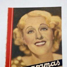 Cine: REVISTA CINEGRAMAS. AÑO III. Nº 74. ENERO, 1936. PORTADA: GRACE MOORE. Lote 269615483