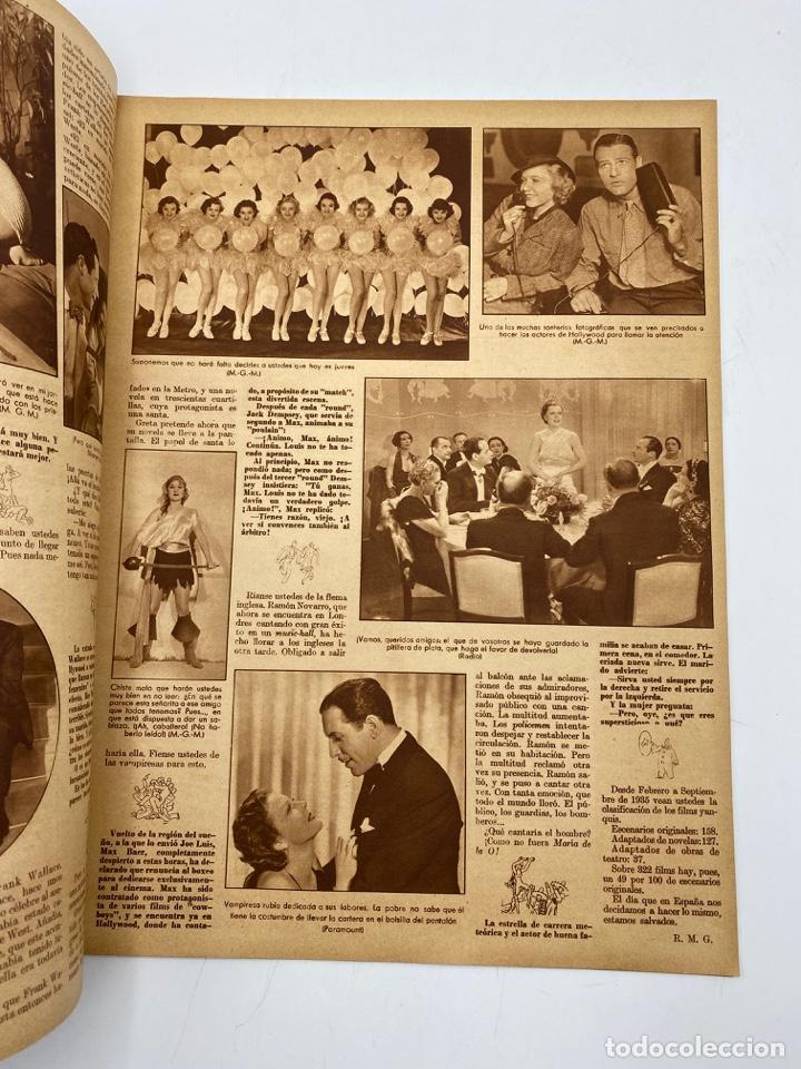 Cine: REVISTA CINEGRAMAS. AÑO III. Nº 72. ENERO, 1936. PORTADA: MARION DAVIES - Foto 3 - 269618123