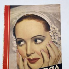 Cine: REVISTA CINEGRAMAS. AÑO III. Nº 73. FEBRERO, 1936. PORTADA: JESSIE MATTHEWS. Lote 269618688
