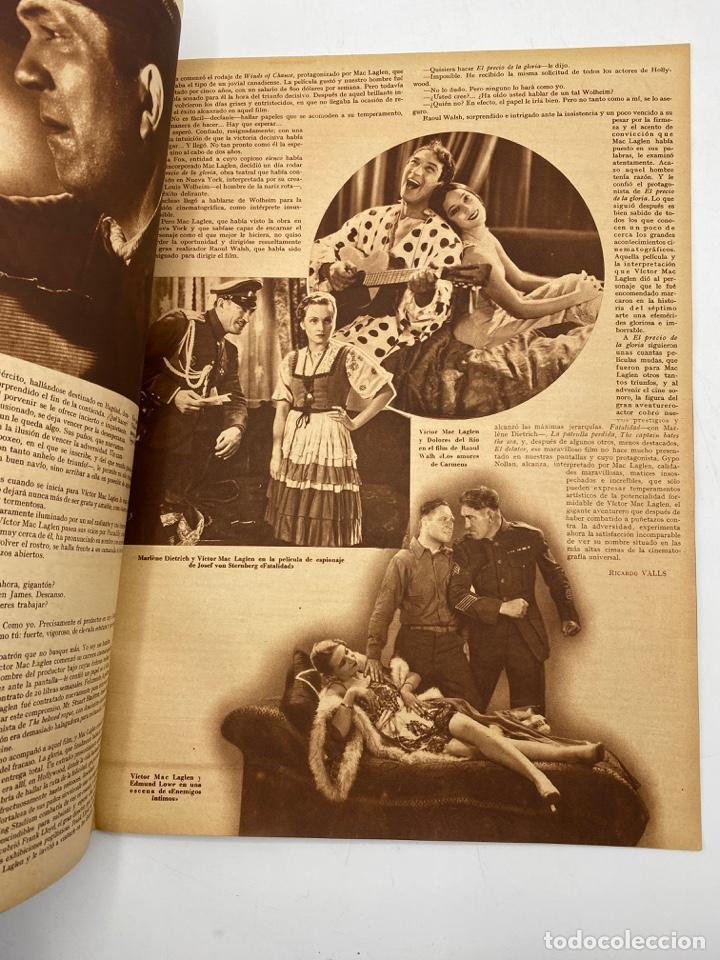 Cine: REVISTA CINEGRAMAS. AÑO III. Nº 73. FEBRERO, 1936. PORTADA: JESSIE MATTHEWS - Foto 5 - 269618688