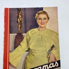 Cine: REVISTA CINEGRAMAS. AÑO III. Nº 74. FEBRERO, 1936. PORTADA: LINA YEGROS. Lote 269619228
