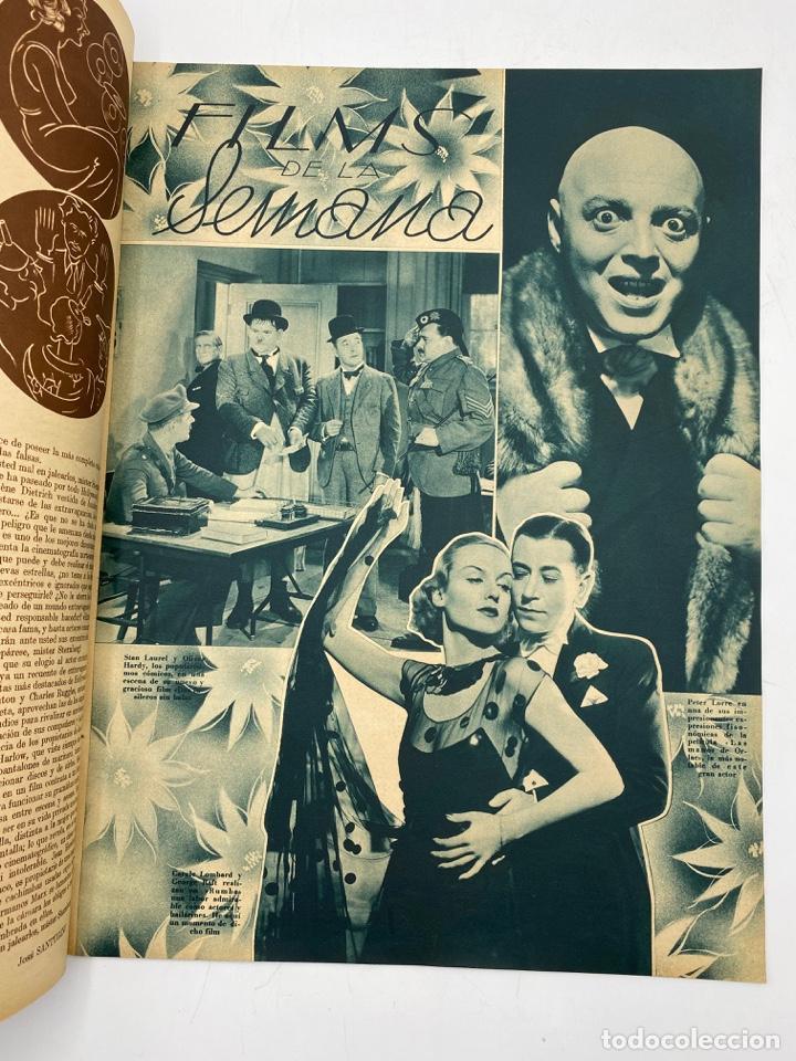 Cine: REVISTA CINEGRAMAS. AÑO III. Nº 74. FEBRERO, 1936. PORTADA: LINA YEGROS - Foto 3 - 269619228