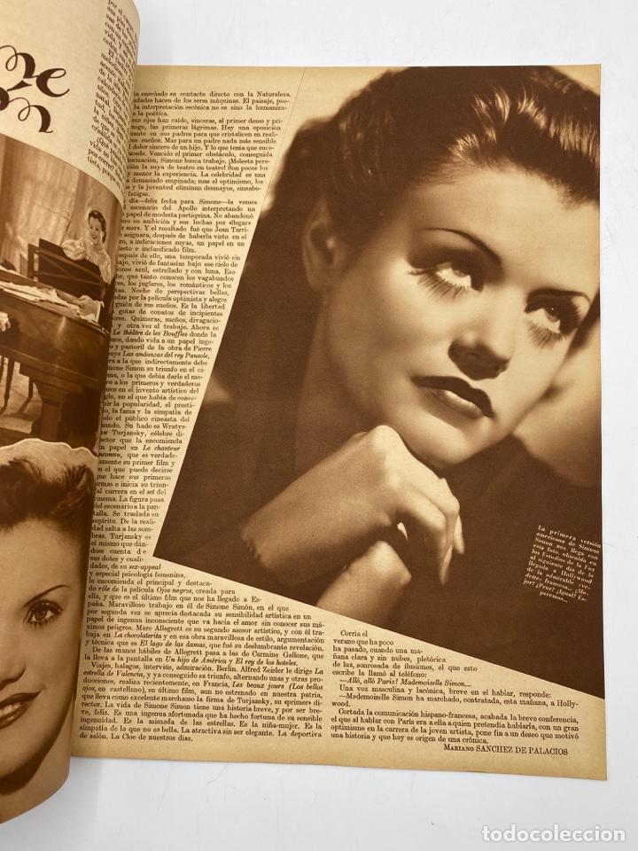 Cine: REVISTA CINEGRAMAS. AÑO III. Nº 74. FEBRERO, 1936. PORTADA: LINA YEGROS - Foto 4 - 269619228