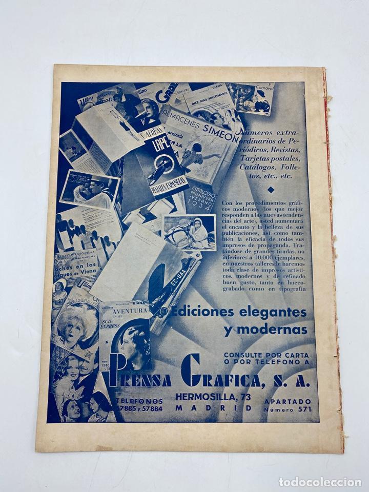 Cine: REVISTA CINEGRAMAS. AÑO III. Nº 74. FEBRERO, 1936. PORTADA: LINA YEGROS - Foto 5 - 269619228