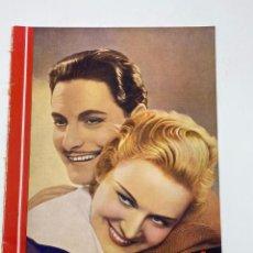 Cine: REVISTA CINEGRAMAS. AÑO III. Nº 75. FEBRERO, 1936. PORTADA: MADELEINE CARROLL Y ROBERT DONAT. Lote 269619658