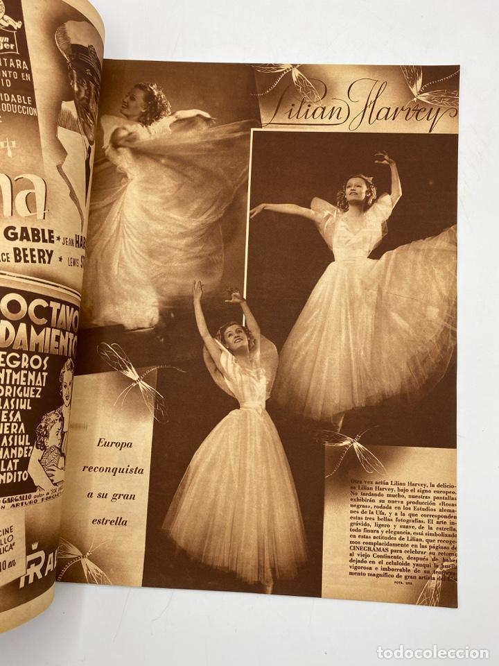 Cine: REVISTA CINEGRAMAS. AÑO III. Nº 75. FEBRERO, 1936. PORTADA: MADELEINE CARROLL Y ROBERT DONAT - Foto 3 - 269619658