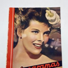 Cine: REVISTA CINEGRAMAS. AÑO III. Nº 76. FEBRERO, 1936. PORTADA: KATHERINE HEPBURN. Lote 269620298