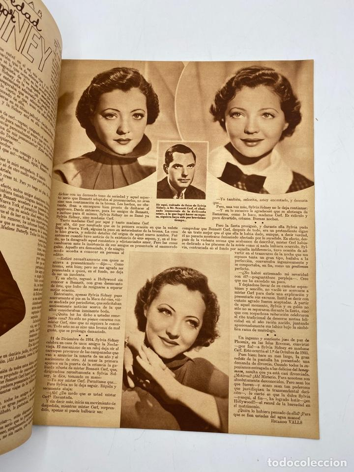 Cine: REVISTA CINEGRAMAS. AÑO III. Nº 76. FEBRERO, 1936. PORTADA: KATHERINE HEPBURN - Foto 3 - 269620298