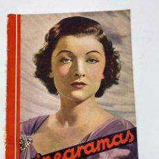 Cine: REVISTA CINEGRAMAS. AÑO III. Nº 78. MARZO, 1936. PORTADA: MYRNA LOY. Lote 269621158