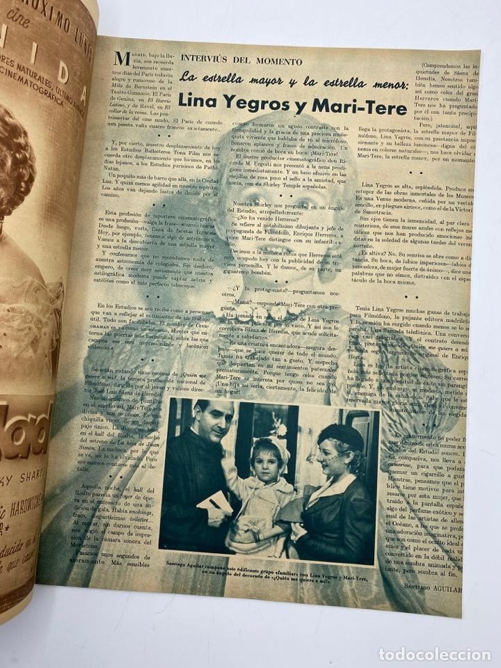 Cine: REVISTA CINEGRAMAS. AÑO III. Nº 78. MARZO, 1936. PORTADA: MYRNA LOY - Foto 3 - 269621158
