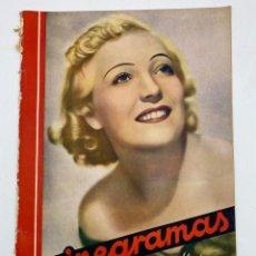Cine: REVISTA CINEGRAMAS. AÑO III. Nº 80. MARZO, 1936. PORTADA: MARTA EGGERTH. Lote 269622283