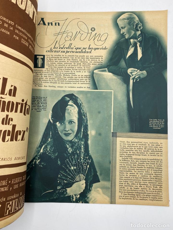 Cine: REVISTA CINEGRAMAS. AÑO III. Nº 80. MARZO, 1936. PORTADA: MARTA EGGERTH - Foto 3 - 269622283