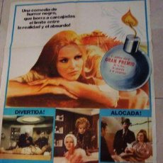 Cinema: AFICHE PELICULA DE CINE SENOR USTED ES VIUDA 73X105 P1. Lote 269670188