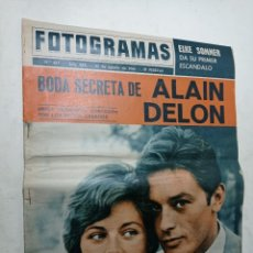 Cine: REVISTA FOTOGRAMAS 827 AGOSTO 1964 ALAIN DELON ELKE SOMMER JOSÉ RUBIO ARTURO FERNÁNDEZ. Lote 269698938