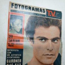 Cine: REVISTA FOTOGRAMAS 814 MAYO 1964 LIZ TAYLOR GARDNER MC KAY CANNES 1964. Lote 269707178