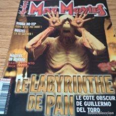 Cine: MAD MOVIES: GUILLERMO DEL TORO, EL LABERINTO DEL FAUNO, MASTER OF HORROR. Lote 269760813