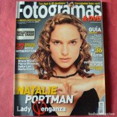 Cine: FOTGRAMAS - Nº 1950 - ABRIL 2006 - NATALIE PORTMAN. Lote 269797473