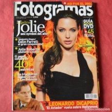 Cine: FOTGRAMAS - Nº 1935 - ENERO 2005 - ANGELINA JOLIE. Lote 269798018