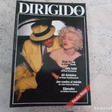 Cine: DIRIGIDO POR Nº 182, ESTUDIOS WARNER, OTTO PREMINGER, DICK TRACY, DESAFIO TOTAL, AIR AMERICA. Lote 270130433
