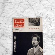 Cine: FILM IDEAL - Nº 84 - 1961 - NURIA TORRAY, STANLEY KRAMER, EL FILM INDUSTRIAL, PLACIDO, BERLANGA. Lote 270132608