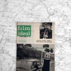 Cine: FILM IDEAL - Nº 86 - 1961 - INGMAR BERGMAN, JEAN RENOIR, L'ECLISSE, FRANCISCO RABAL, EL ROSTRO. Lote 270133038