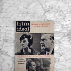 Cine: FILM IDEAL - Nº 87 - 1962 - LA RIVIERE DU HIBOU, FESTIVAL DE TOURS, CINE ITALIANO, ANTONIONI. Lote 270133553