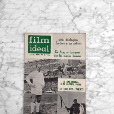 Cine: FILM IDEAL - Nº 88 - 1962 - BARDEM, VITTORIO DE SICA, EL MUSICAL, EL CID. Lote 270133943