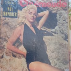 Cine: DIANA DORS CINEMONDE 1957. Lote 270221203