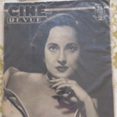 Cine: CINE REVUE 1948 MERLE OBERON. Lote 270224763