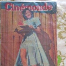 Cine: GENE TIERNEY MICHELINE PRESLE 1948 CINEMONDE. Lote 270230733