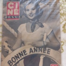 Cine: VIRGINIA MAYO 1950 CINE REVUE. Lote 270231023