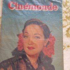 Cine: DOROTHI LAMOUR CINEMONDE 1948. Lote 270231403