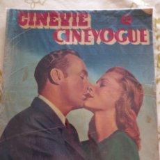 Cine: LAUREN BACALL CHARLES BOYER 1948 CINEVIE CINEVOGUE. Lote 270232918