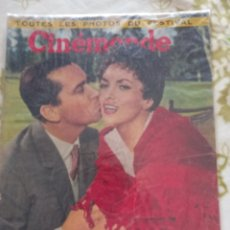 Cine: GINA LOLLOBRIGIDA CINEMONDE 1957. Lote 270233883