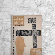 Cine: FILM IDEAL - Nº 90 - 1962 - ORSON WELLES, SED DE MAL, LA CHICA CON LA MALETA, EL SECRETO DE MONICA. Lote 270354468