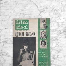 Cine: FILM IDEAL - Nº 91 - 1962 - NUEVO CINE FRANCES, NOUVELLE VAGUE, TRUFFAUT, AGNES VARDA, JACQUES DEMY. Lote 270355613