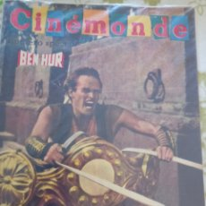 Cine: CHARLTON HESTON CINEMONDE 1960 CINEMONDE. Lote 270358798