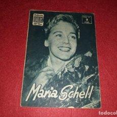 Cine: MARIA SCHELL COLECCIÓN IDOLOS DEL CINE Nº 65. Lote 270929243