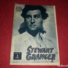 Cine: STEWART GRANGER COLECCIÓN IDOLOS DEL CINE Nº 80. Lote 270936578