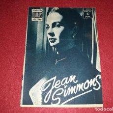 Cine: JEAN SIMMONS COLECCIÓN IDOLOS DEL CINE Nº 81. Lote 270937293