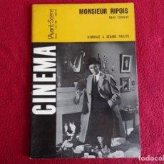 Cine: CINEMA L´AVANT SCENE Nº 55 1966 GERARD PHILIPE EN FRANCES. Lote 271618098