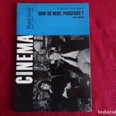 Cine: CINEMA L´AVANT SCENE Nº 59 1966 PETER SELLES PETER O`TOOLE ROMY SCHNEIDER EN FRANCES. Lote 271619033