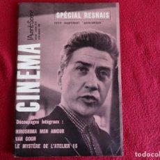Cine: CINEMA L´AVANT SCENE Nº 61 Y 62 1966 ALAIN RENAIS EMMANUELE RIVA EN FRANCES. Lote 271620173