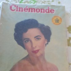 Cine: ELIZABETH TAYLOR CINEMONDE 1953. Lote 271620303