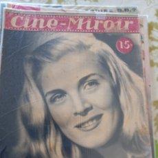 Cine: CINE MIROIR 1949 ELIZABETH SCOTT SHIRLEY TEMPLE. Lote 271621608
