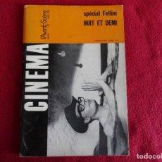 Cine: CINEMA L´AVANT SCENE Nº 63 1966 MARCELO MASTRO / CLAUDIA CARDINALE IANNI EN FRANCES. Lote 271622513