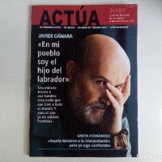 Cine: REVISTA ACTÚA Nº 64 OCTUBRE-DICIEMBRE 2020 JAVIER CÁMARA, GRETA FERNÁNDEZ, 40 AÑOS DE VERANO AZUL. Lote 272024408