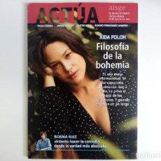 Cine: REVISTA ACTÚA Nº 65 ENERO-MARZO 2021 AIDA FOLCH, NORMA RUIZ, PAULA USERO, JORGE SUSQUET. Lote 272024738