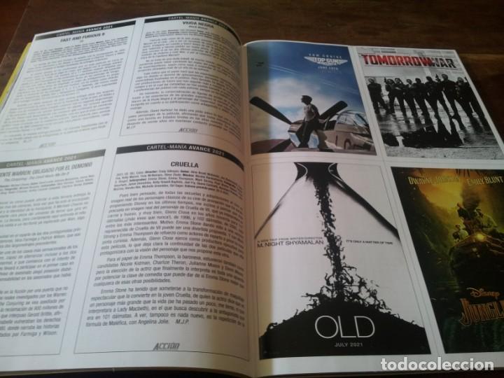 Cine: lote 5 revistas de cine Accion - Nº 2101, 2102, 2103, 2104, 2105 contienen los posters - Foto 4 - 272127313